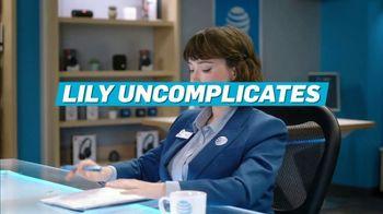 AT&T Wireless TV Spot, 'Lily Uncomplicates: Trash Talk' - Thumbnail 2