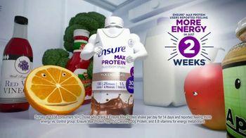 Ensure Max Protein TV Spot, 'More Energy' - Thumbnail 2