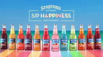 Seagram's Escapes TV Spot, 'Sip Happiness At The Pool' Song by Tiffany Houghton - Thumbnail 7
