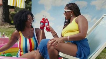 Seagram's Escapes TV Spot, 'Sip Happiness At The Pool' Song by Tiffany Houghton - Thumbnail 5