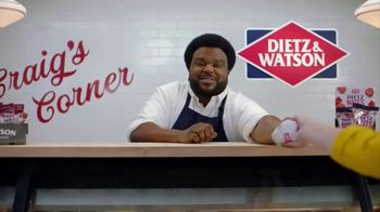 Dietz & Watson TV Spot, 'Craig Robinson See Sandwiches In Your Future' - Thumbnail 2