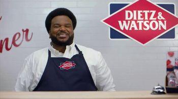 Dietz & Watson TV Spot, 'Craig Robinson See Sandwiches In Your Future' - Thumbnail 4