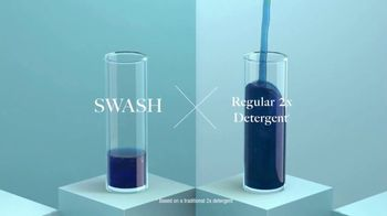 Swash Laundry Detergent TV Spot, 'Do More With Less' - Thumbnail 8
