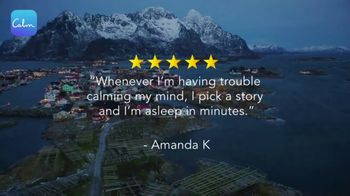 Calm TV Spot, 'Sleep Story: Snowy Mountain' - Thumbnail 2