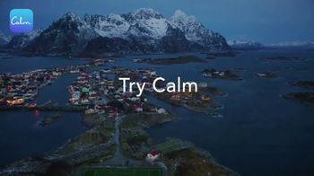 Calm TV Spot, 'Sleep Story: Snowy Mountain' - Thumbnail 3