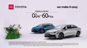 Toyota TV Spot, 'Exploring: Corolla Family' [T2] - Thumbnail 2