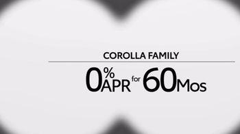 Toyota TV Spot, 'Exploring: Corolla Family' [T2] - Thumbnail 5
