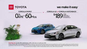 Toyota TV Spot, 'Exploring: Corolla Family' [T2] - Thumbnail 8