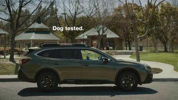 Subaru Outback TV Spot, 'Dog Tested: No Pets Allowed' [T1] - Thumbnail 10