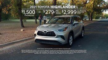 2021 Toyota Highlander TV Spot, 'Time for a Change' [T2] - Thumbnail 8
