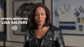 Pro Football Hall of Fame TV Spot, 'Count On Me: Lisa Salters' - Thumbnail 2