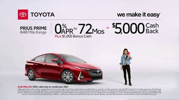 2021 Toyota Prius Prime TV Spot, 'Video Call' [T2] - Thumbnail 1
