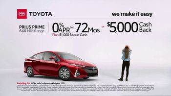 2021 Toyota Prius Prime TV Spot, 'Video Call' [T2] - Thumbnail 3