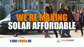Power Home Solar & Roofing TV Spot, 'Join the Solar Revolution Houston: First 12 Months Free' Song by Twisted Sister - Thumbnail 3