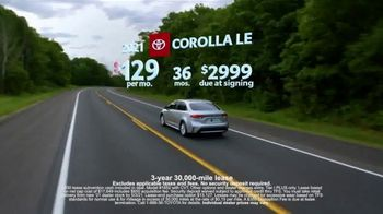 Toyota TV Spot, 'Run the Numbers: Corolla and Camry' [T2] - Thumbnail 8