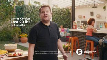 WW TV Spot, 'Zero Points: 60% Off' Featuring James Corden - Thumbnail 9