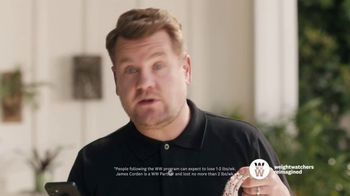 WW TV Spot, 'Let Me Show You How: Phone Right There: 60% Off' Featuring James Corden - 17 commercial airings