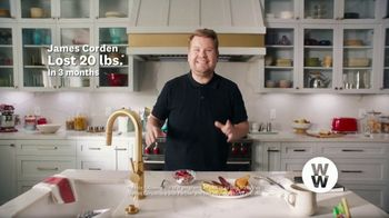 WW TV Spot, 'Let Me Show You How: Phone Right There: 60% Off' Featuring James Corden - Thumbnail 1