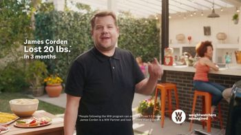WW TV Spot, 'Let Me Show You How: Phone Right There: 60% Off' Featuring James Corden - Thumbnail 8