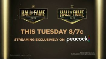 Peacock TV TV Spot, 'WWE Hall of Fame Induction Ceremony' - Thumbnail 8