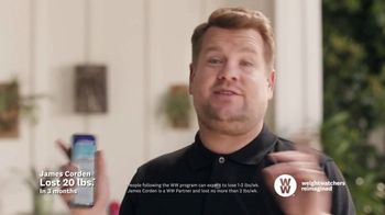 WW TV Spot, 'Let Me Show You How: App Free Trial' Featuring James Corden - Thumbnail 5