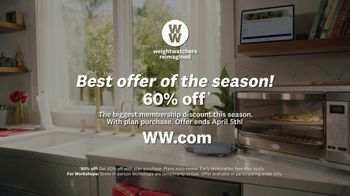 WW TV Spot, 'Pizza: 60% Off' Featuring James Corden - Thumbnail 8
