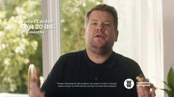 WW TV Spot, 'Pizza: 60% Off' Featuring James Corden - Thumbnail 5