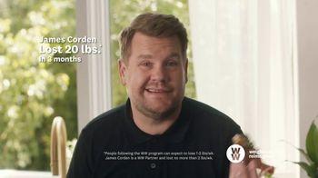 WW TV Spot, 'Pizza: 60% Off' Featuring James Corden - Thumbnail 7