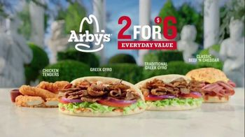 Arby's 2 for $6 Everyday Value TV Spot, 'Famous Quotes: Socrates' Song by YOGI - Thumbnail 5