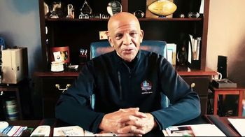 Pro Football Hall of Fame TV Spot, 'Count on Me' Featuring Drew Pearson - Thumbnail 4