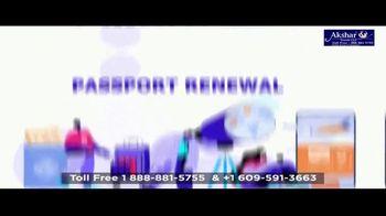 Akshar Travels TV Spot, 'Looking for OCI Card, Passport Renewal OR Emergency Visa' - Thumbnail 8