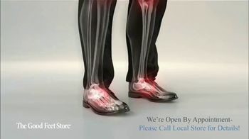 The Good Feet Store TV Spot, 'Feel Better: Open by Appointment' - Thumbnail 3