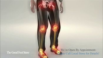 The Good Feet Store TV Spot, 'Feel Better: Open by Appointment' - Thumbnail 4