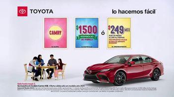 2021 Toyota Camry TV Spot, 'Lotería' [Spanish] [T2]