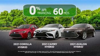 Toyota TV Spot, 'Ten Different Hybrids' [T2] - Thumbnail 9
