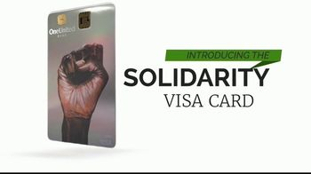 OneUnited Bank Solidarity Visa Debit Card TV Spot, 'Join the Movement'