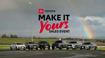 Toyota Make It Yours Sales Event TV Spot, 'Get In Today: Country Roads' Song by Jet [T2] - Thumbnail 10