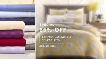 Macy's TV Spot, 'Lowest Prices of the Season: Sectional, Sheets and Bedding' - Thumbnail 4
