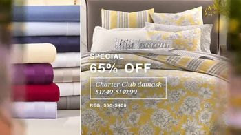 Macy's TV Spot, 'Lowest Prices of the Season: Sectional, Sheets and Bedding' - Thumbnail 5