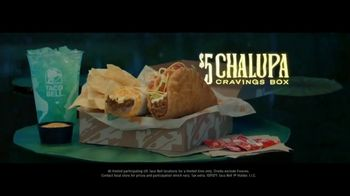 Taco Bell $5 Chalupa Cravings Box TV Spot, 'Wildest Cravings: Boat' - Thumbnail 10