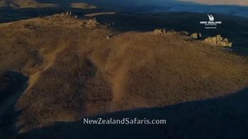New Zealand Safaris TV Spot, 'Thrill and Excitement' - Thumbnail 1
