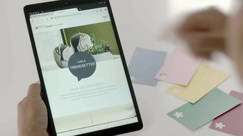 Sherwin-Williams ColorSnap Color ID TV Spot, 'Home.Made: Trendsetter' - Thumbnail 6