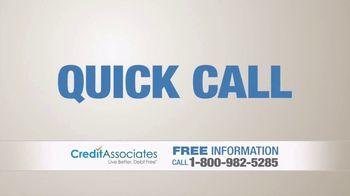 Credit Associates TV Spot, '$10,000 in Credit Card Debt' - Thumbnail 3