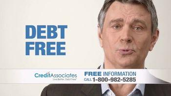 Credit Associates TV Spot, '$10,000 in Credit Card Debt'