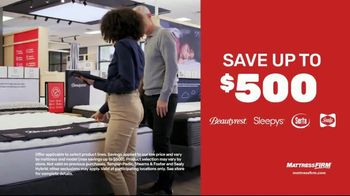 Mattress Firm TV Spot, 'King for a Queen, Sealy and Tempur-Pedic Offers'