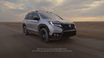 Honda TV Spot, 'Every Road Has Its Challenges: Passport, Pilot, CR-V' Song by Vampire Weekend [T2]