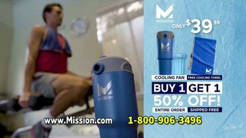 Mission Personal Cooling Fan TV Spot, 'Beat the Heat' - Thumbnail 10