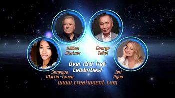 55-Year Mission Las Vegas TV Spot, 'Over 100 Trek Celebrities: Rio Suites Hotel' - 94 commercial airings