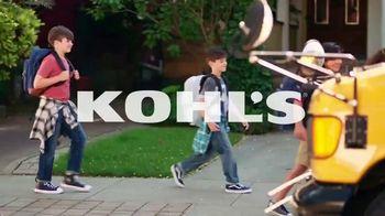 Kohl's TV Spot, 'Getting Back to School' - Thumbnail 1