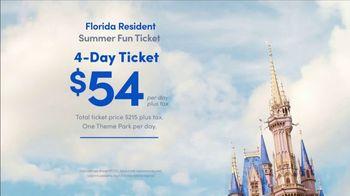 Disney World TV Spot, 'Florida Residents: Summer Fun Ticket' Song by Rex Allen - Thumbnail 9